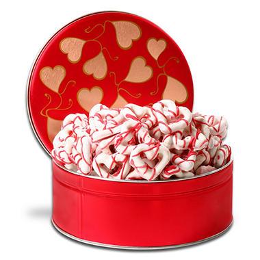 Alder Creek Gift Basket - Chocolate Dipped Heart Pretzel