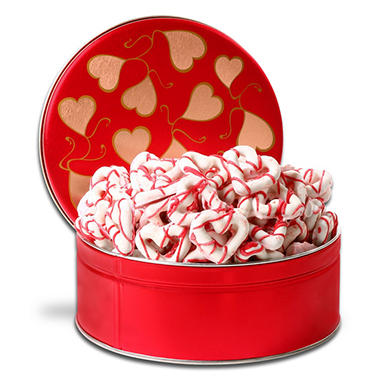 Alder Creek Gift Basket - Chocolate Dipped Heart Pretzel