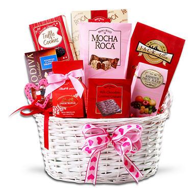 Alder Creek Gift Basket - Valentines Decadence