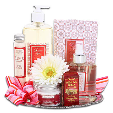 Elegant Spa Gift Tray