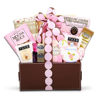 Alder Creek Pretty in Pink Gourmet Gift Basket