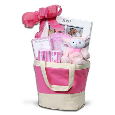 Alder Creek Baby Keepsake Tote - Pink