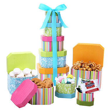 Alder Creek Springtime Decadence Gift Tower