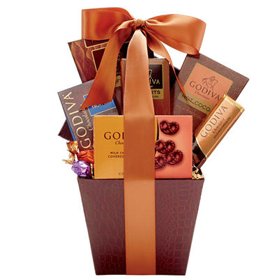 Alder Creek Godiva Gift Box with Custom Printed Ribbon