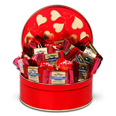 Ghirardelli and Lindt Valentine's Day Tin