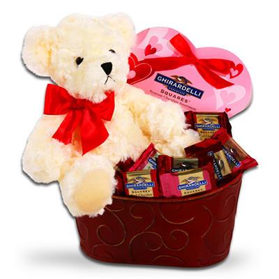 Alder Creek Ghirardelli Chocolate Valentine's Gift