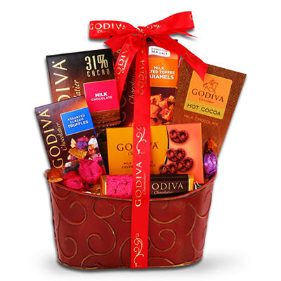 Alder Creek Godiva Chocolate Valentine's Gift