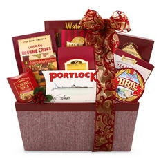 Alder Creek A Very Merry Gourmet Christmas Gift Basket
