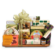 Alder Creek Gold & Sage Cutting Board Gift Set