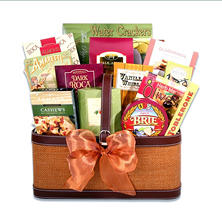 Wine Country Christmas Gift Basket