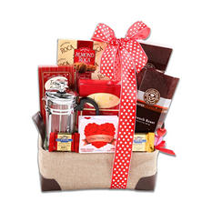 Burning Love Gift Basket