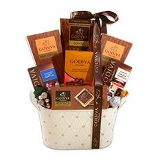White Godiva Gift Basket