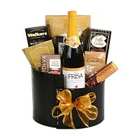 Elegant New Year Gift Basket