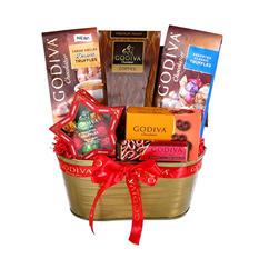 Godiva Star Gift Basket