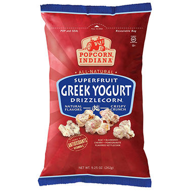 Popcorn Indiana Greek Yogurt Drizzlecorn - 9.25 oz.