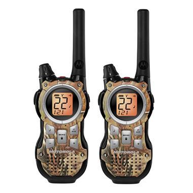 Motorola 2-Way Radio with 35 Mile Range - Realtree AP HD - Camo Pattern
