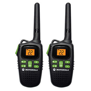 Motorola Rechargable 2-Way Radio with 20 Mile Range