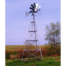 Outdoor Water Solutions 20' Deluxe Windmill Aeration System