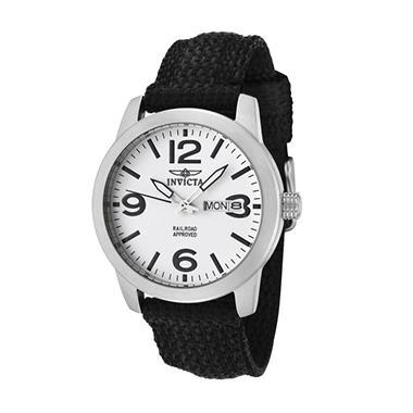 Invicta Ladies Railroad Collection White Watch