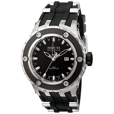 Invicta Men's Reserve Specialty Subaqua Swiss Quartz GMT Polyurethane Strap Watch