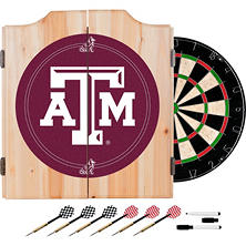 Texas A&M University Dart Cabinet Set