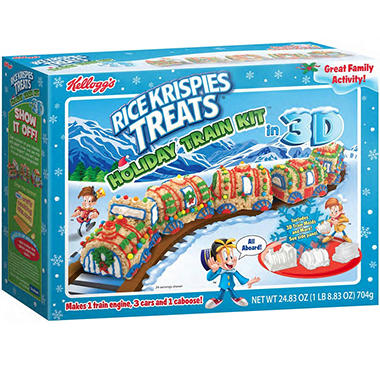 Kellogg's� Rice Krispies Treats� Holiday Train Kit - 24.83 oz.