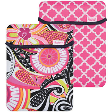 Macbeth Collection Fits All iPads® Reversible Sleeve - Sloane Picadilly