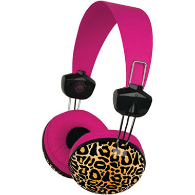 Macbeth Collection Large Headphones - Kensington Leopard