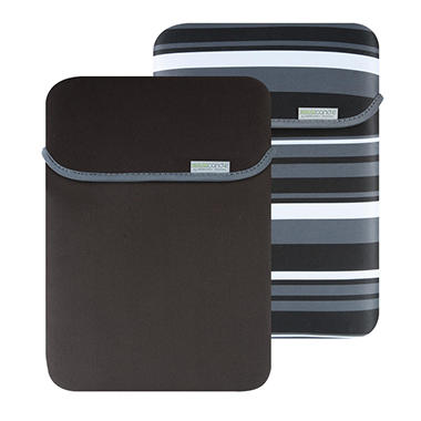 "15.6"" MacBeth Reversible Sleeve - Castlerock Stripe/Black"