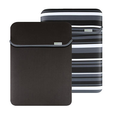 "17"" MacBeth Reversible Sleeve - Castlerock Stripe/Black"