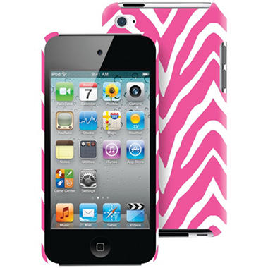 Macbeth Collection MB-T4CPZ iPod Touch 4G Case - Pink Zebra