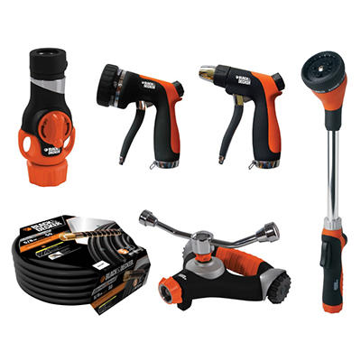 Black & Decker Garden Watering Set - 6 pc.