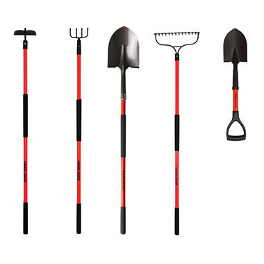 Black & Decker Long Handled Garden Tools 5 pc.