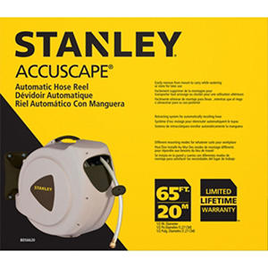 Stanley 65' Automatic Hose Reel
