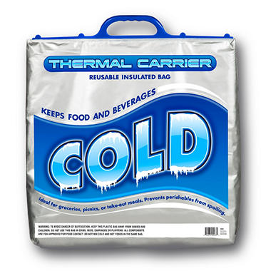 Stout Stuff Thermal Insulated Food and Beverage Bag