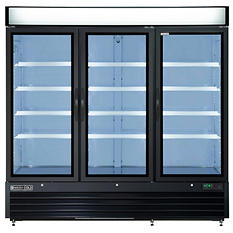Maxxium X-Series Merchandiser Freezer with Glass Door (72 cu. ft.)