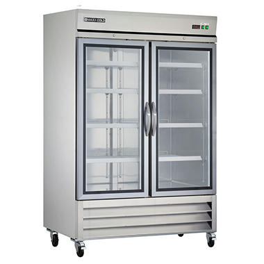 Maxx Cold X Series Double Glass Door Commercial