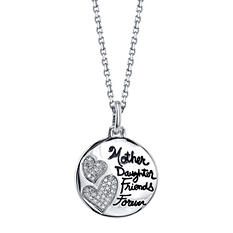 """Mother Daughter Friends Forever"" Pendant"