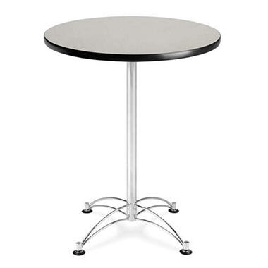 "30"" Round Cafe Table - Gray"