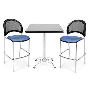 Caf�-Height Table & Chair Set - 3 pc.