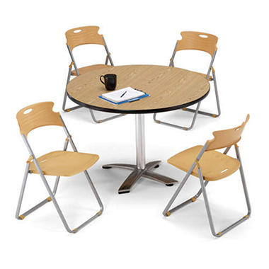 Flip-Top Nesting Table and Chair Set - 5 pc.