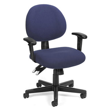 24-Hour Computer Task Chair with Arms - Various Colors