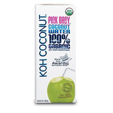 Koh Coconut 100 Organic Pink Baby Coconut Water 8 45 Fl