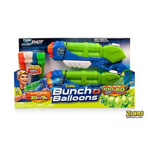 Zuru X Shot 2 Medium Typhoon Thunders With 4 Bunch-O-Balloons Value Pack
