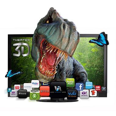 "65"" VIZIO 3D Edge Lit Razor LED LCD 1080p 120Hz HDTV"