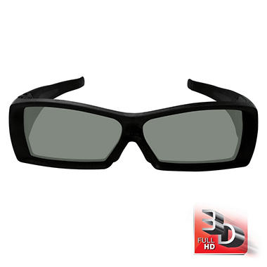 Vizio Full HD 3D Rechargeable Glasses - 2 pk.