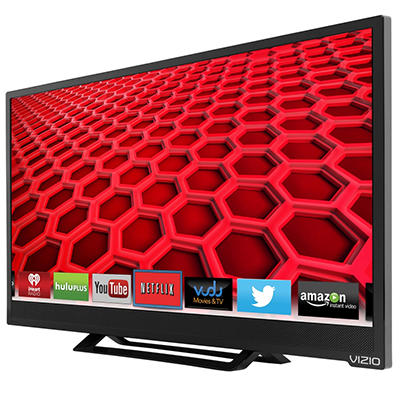 "24"" VIZIO Razor LED 1080p Smart TV w/ Wi-Fi"