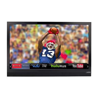 """24"""" VIZIO 1080p Razor LED Smart HDTV - Black"""