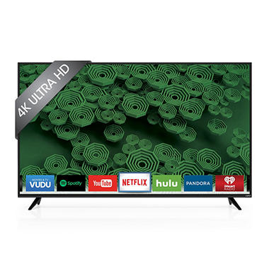 VIZIO 65? Class 4K UHD LED Smart TV - D65u-D2