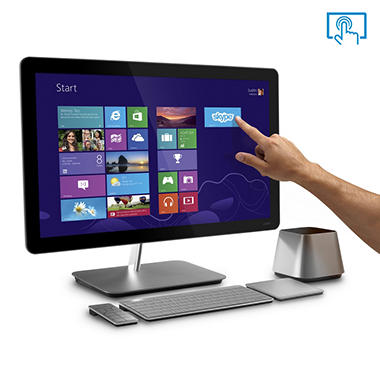"VIZIO CA27T-A5 All-in-One Desktop Computer, Intel® Quad Core™ i7-3630QM, 8GB Memory, 1TB Hard Drive, 27"" w/ Touch"